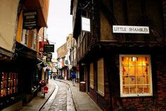 In 2010, the Shambles won the award for Britain's Most Picturesque Street by the Google Street Team in an online vote. Photo Credit