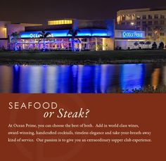 Ocean Prime Tampa | Steakhouse Seafood Restaurant | Best Piano Bar