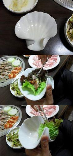 쌈싸주는 그릇,,