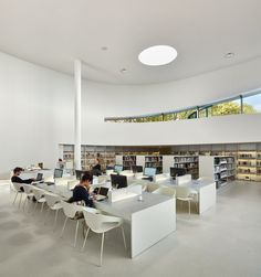 Media library [Third-Place] in Thionville   Dominique Coulon & associés; Photo: Eugeni Pons, David Romero-Uzeda   Archinect