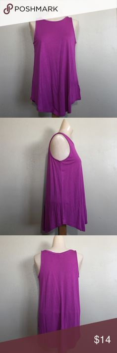 Old navy purple loose fit tank top Size SP Brand new with tags. Materials are made of 100% Rayon, it's soft. We promise to ship as soon as we can. We offer bundle shipping. We store our products in a smoke free home. Old Navy Tops Tank Tops