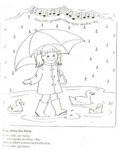LDS Nursery Color Pages: 9 - I Am Thankful For Water