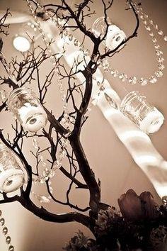 Deluxe Home Improvement Design Ideas: Wedding inspiration: Manzanita / branches centerpieces Latin Wedding, Wedding Reception, Dream Wedding, Luxe Wedding, Rustic Wedding, Wedding Rentals, Reception Table, Wedding Bells, Branch Centerpieces