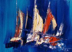 Un jour en mer, 12inx16in (31cmx41cm), at Westport River Gallery.