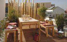 Brise-vue balcon: idées originales en 28 photos sympas!