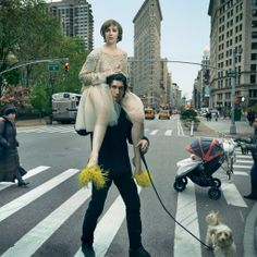 Lena Dunham, Girls, Annie Leibovitz | Vogue