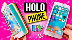 ¡¡REGALA una  LIBRETA en forma de  IPHONE HOLOGRÁFICO!! * IDEAS DIY FÁ...