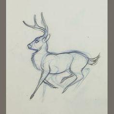 deer sketch Drawing Animals, Animal Drawings, Deer Sketch, Moose Art, Goals, Tattoos, Draw Animals, Tatuajes, Tattoo