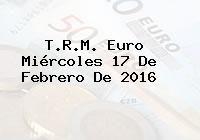 http://tecnoautos.com/wp-content/uploads/imagenes/trm-euro/thumbs/trm-euro-20160217.jpg TRM Euro Colombia, Miércoles 17 de Febrero de 2016 - http://tecnoautos.com/actualidad/finanzas/trm-euro-hoy/trm-euro-colombia-miercoles-17-de-febrero-de-2016/