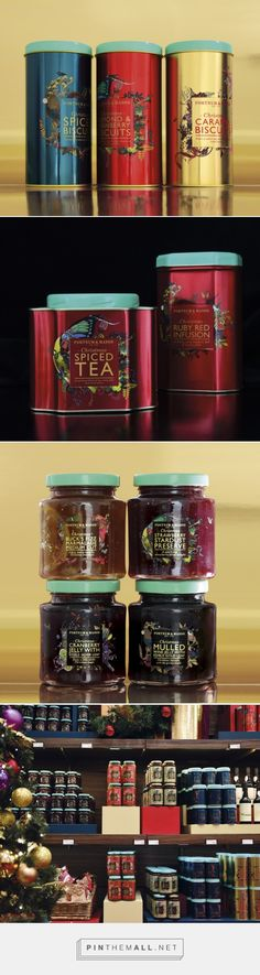 Design Bridge new Fortnum & Mason Christmas Range curated by Packaging Diva…