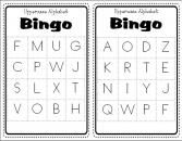 Uppercase Alphabet Bingo product from All-Things-Teachery on TeachersNotebook.com Alphabet Bingo, Uppercase Alphabet, Teaching The Alphabet, Alphabet Activities, Teaching Kids, Kids Learning, Childhood Education, Kids Education, Letter Sounds