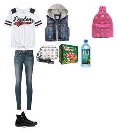 """""""Tamia; she is trying out to be a majorette"""" by mackenzieandsierra on Polyvore featuring rag & bone, Converse and MCM"""