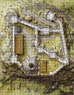 Tagged with fantasy, dnd, dungeons and dragons, battlemaps; Dungeons and Dumps: My Battle Map Collection Fantasy City Map, Fantasy Castle, Fantasy Town, Dark Sun, Pathfinder Maps, Building Map, Rpg Map, Fantasy Character, Savage Worlds