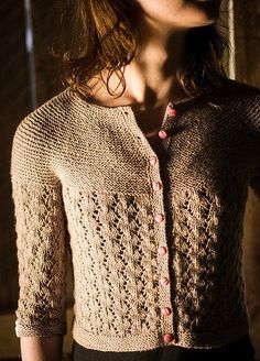 Juniper Moon Farm Piper Cardigan Pattern - Paradise Fibers