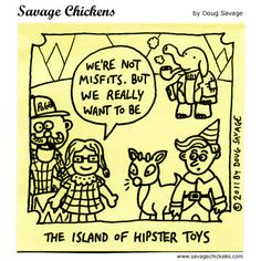 hipsters....