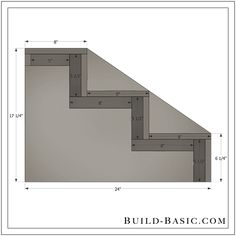 Build DIY Dog Steps - Building Plans by @BuildBasic www.build-basic.com