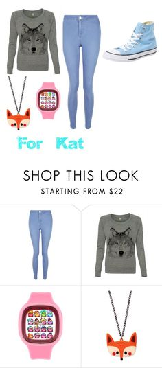 """""""For Kat"""" by agk2403 ❤ liked on Polyvore featuring New Look and Converse"""
