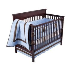 Luxe Blue Baby Bedding Collection