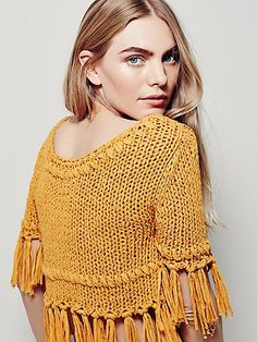 On The Fringe Pullover