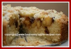 Apple Coffee Cake Recipe! Easy and SCRUMPTIOUS!