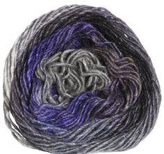 Noro Silk Garden Yarn - 358 Grey, Black, Purple (Discontinued)