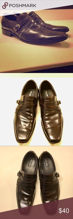 Men's 13 • Stacy Adams Halsey Leather Loafers Men's 13 • Stacy Adams Halsey Leather Loafers • Slip-On • EUC • Worn less than 5 times • New  24754-200 Stacy Adams Shoes Loafers & Slip-Ons