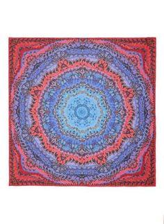 Rainbow wings silk organza scarf #scarf #cloudy #covetme #alexandermcqueen