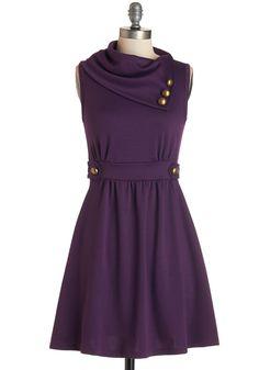 Coach Tour Dress in Violet | Mod Retro Vintage Dresses | ModCloth.com