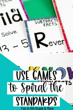 Spiral teaching is an important part of my classroom. Learn all about the benefits of spiraling in the upper elementary classroom. Learn how you can make it fun for your students by using games… More