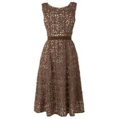Buy Phase Eight Lorenza Dress, Praline Online at johnlewis.com £150