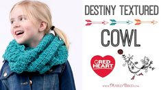 Crochet Destiny Textured Cowl