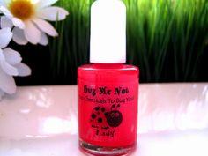 Lady - Natural Non-toxic Nail Polish. $7.95, via Etsy.