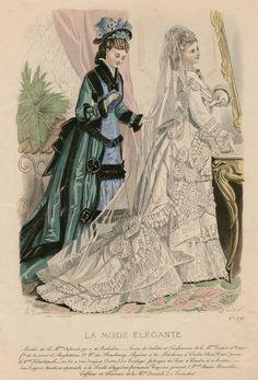 La Mode Élégante 1875
