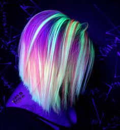 Pin by Nonie Chang on Dyed Hair Pin by Nonie Chang on Dyed Hair Exotic Hair Color, Beautiful Hair Color, Cool Hair Color, Hair Colour, Coloured Hair, Pinterest Hair, Mermaid Hair, Dream Hair, Rainbow Hair