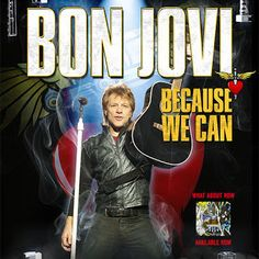 Summer is prime concert season! I recently rocked out at Bon Jovi's #BecauseWeCan tour at New Jersey's MetLife Stadium. Was my first Bon Jovi concert but not my last!