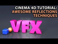 Cinema 4D Tutorial: Awesome Reflections Techniques