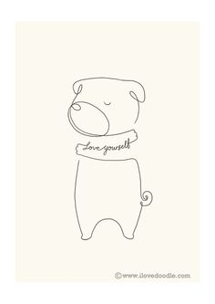 Love Yourself by Heng Swee Lim, via Behance