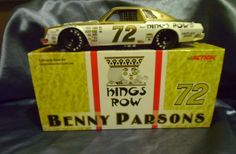 Benny Parsons 1976 Kings Row Fireplaces #72 Chevy Malibu 1/24 NASCAR Rare Mint #ActionRacingCollectables #Chevy