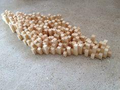 120-x-50-x-13-cm-densite-bois-800.jpg - Sculpture,  48x118x14 cm ©2015 par Lesca -  Sculpture