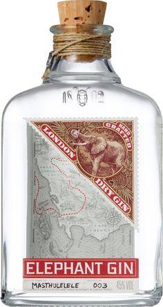 Elephant London Dry Gin 0,5l - Eine Sünde wert