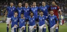 Seleção italiana. 13/05/2014.