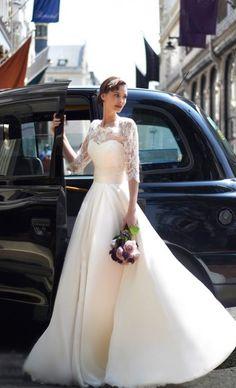 2014 F/W 예쁜 롱슬리브 웨딩드레스 디자인♡ 벌써 3일간의 연휴가 지나고 월요일도 저물어 가고...