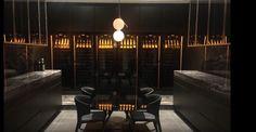 Discover the video of Professional great references - 2018 edition! Bar Interior Design, Interior Styling, Wine Dispenser, Wine Tasting Room, Cellar Design, Wine Cabinets, Wine Storage, Wine Cellar, Restaurant Design