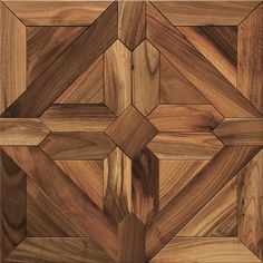 "Parquet Wood Flooring ""Vernantes"" available in Character & Prime Grades. Made of European Oak & European Walnut."