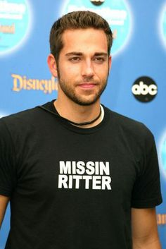 Zachary Levi - I just want to hug him every time I watch Chuck.