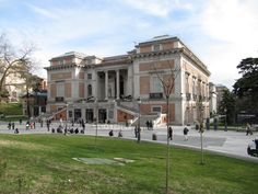 The Museo del Prado is the main Spanish national art museum, located in central Madrid.