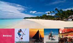 It's More Fun in the Philippines Boracay Fly Travel, Travel Tours, Philippine Holidays, Boracay Philippines, Boracay Island, Visayas, Best Sunset, Iconic Photos, Travel And Leisure