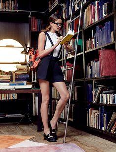 Donatella Versace contou seus lugares preferidos em Milão para a revista francesa Numéro, e o Istituto Marangoni é um deles!!!