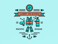 Carry on Diving by Studio–JQ