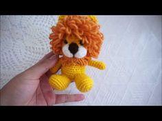 Amigurumi Lion crochet tutorial - YouTube
